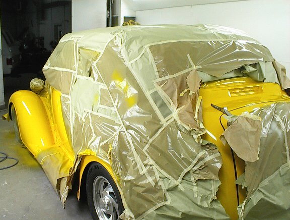 Masking of vehicle