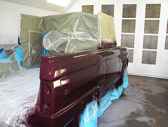 Exterior Paint Refinish
