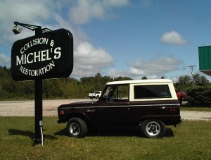 1970 Bronco Body Restoration Completed